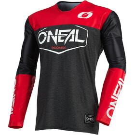 O'Neal Mayhem Maglietta Uomo, nero/rosso